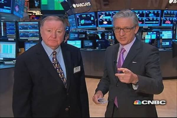 Cashin says: ISM data spooked bond market