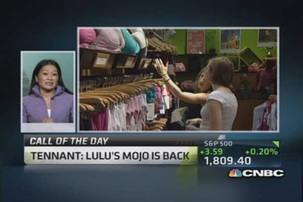 Does Lulu have its mojo back?