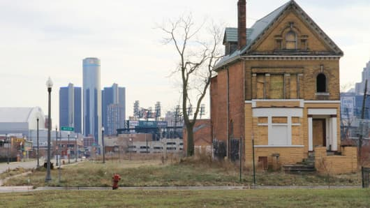 The city of Detroit awaits their bankruptcy decision expected on Dec. 3, 2013.