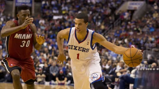 Millionaire on the court: Philadelphia 76er phenom Michael Carter-Williams