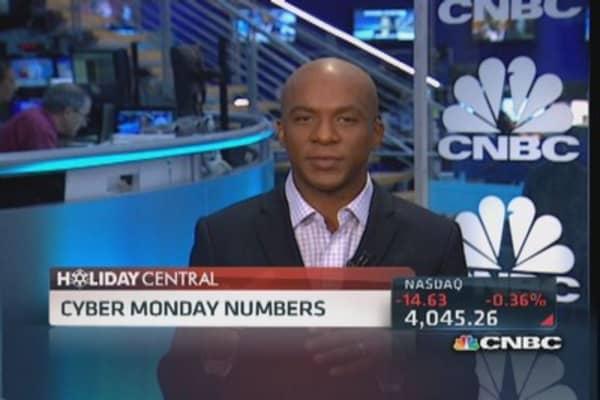Tallying Cyber Monday's big bucks
