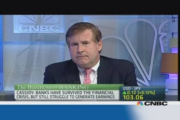 30% upside for US banks in one year?
