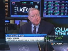 Cashin: Taper may take until June