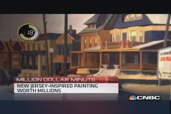 NJ-inspired painting estimated to auction for $22-$28 million