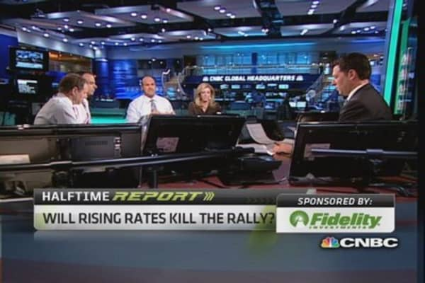 Will rising rates sink stocks?