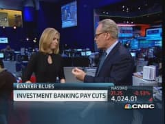 Investment bankers brace for pay cuts