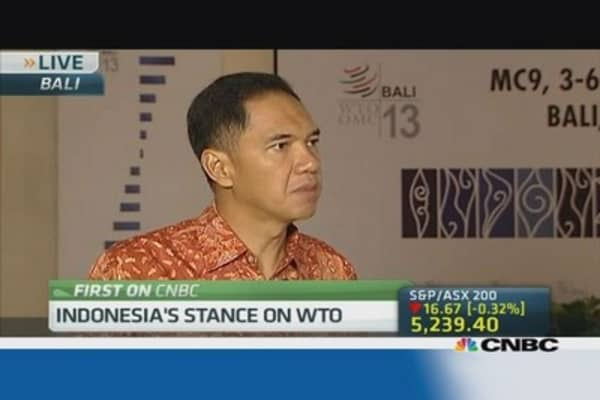 Indonesia trade minister: Cautious about WTO deal