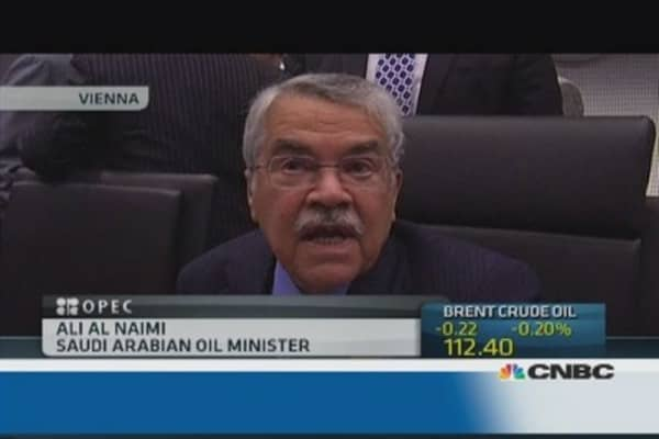 Saudi 'welcomes' shale oil: Oil minister