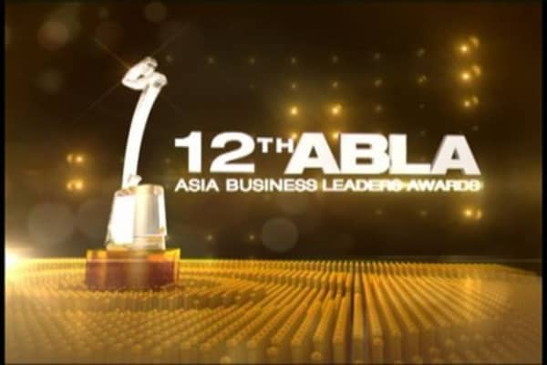 Highlights from Asia Business Leaders Awards