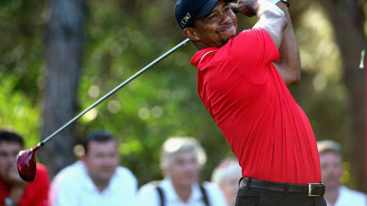 Tiger Woods: Getting in the swing for a major victory in 2014