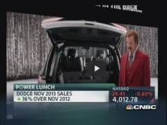 Ron Burgundy ad paying off