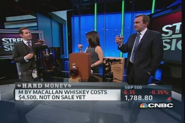 Investing in whiskey