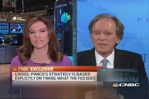 Bill Gross: PIMCO strategy based explicitly on timing the Fed