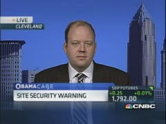 Obamacare website ignites security warnings