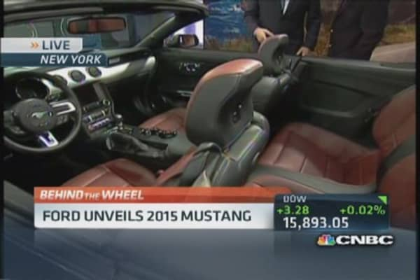 Alan Mulally: We are reinventing the Mustang