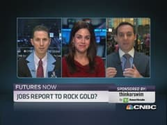 Futures Now: Jobs ahead & gold's next move