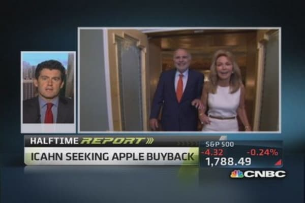 Don't think Apple wild 'bend' to Icahn's pressure: Pro