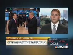 Market increasingly comfortable with taper: Pro