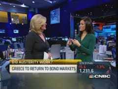 Greece finally back in credit market