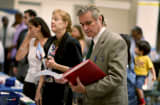 Attendees at the Choice Career Fair in November in West Palm Beach, Fla.
