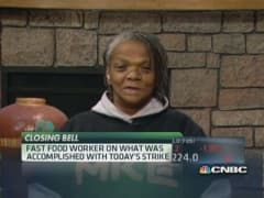 Fast-food worker: Hard to find better-paying job
