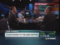Countdown to jobs report