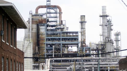 The refinery near Philadelphia that Delta bought in 2012.