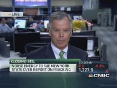 Norse Energy to sue NY over fracking report