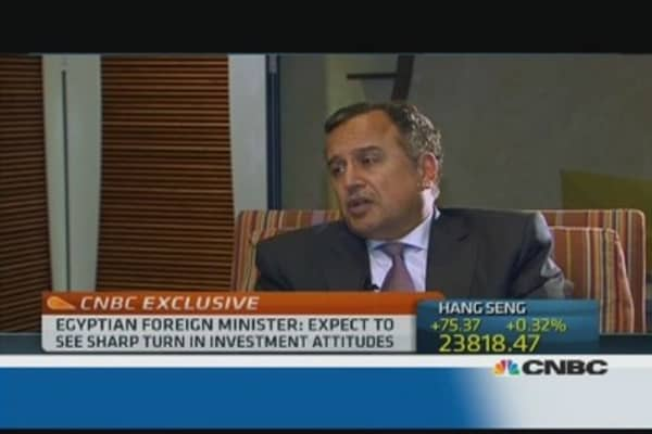Egypt stability will bring more investment: Foreign minister