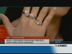 Are diamonds being downgraded by consumers?