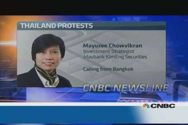 Impact of protests on Thailand's economy: Pro