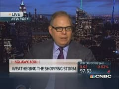 Weathering the shopping storm