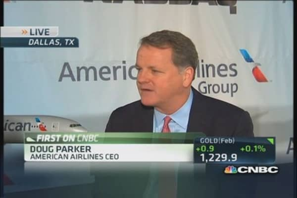 American Airlines CEO: Done deal and set to fly