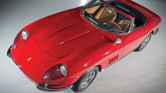 This 1967 Ferrari 275 GTB/4*S NART Spyder sold for $27.5 million in August.
