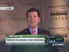 Nasdaq on winning over companies