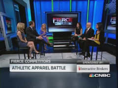 Athletic apparel battle: LULU vs. UA