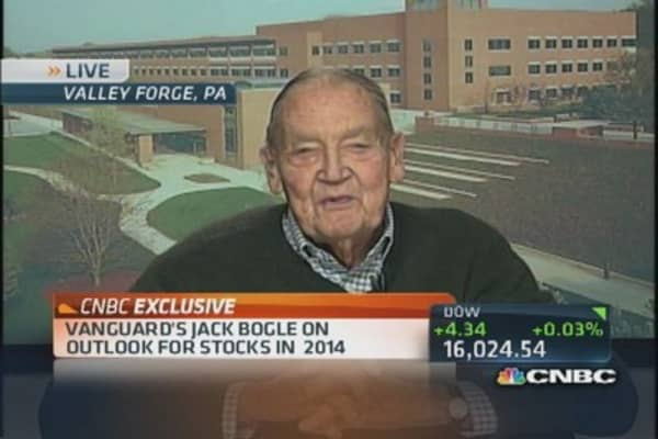 Jack Bogle: Past performance is terrible guide to future