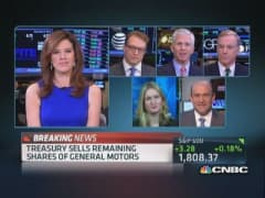 Treasury sells remainder of GM shares