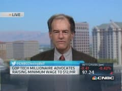GOP tech millionaire advocates $12/hr minimum wage