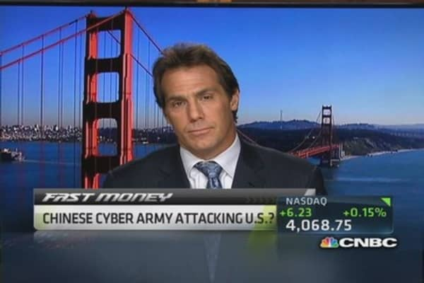 Chinese cyber army attacking US?