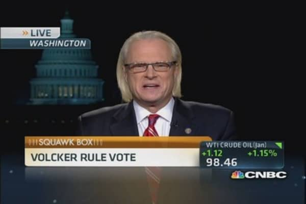 Chilton: Volcker Rule ultimately 'good for markets'