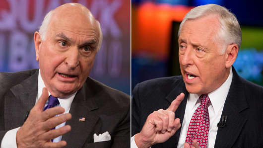 "Ken Langone and Steny Hoyer discuss Congress on ""Squawk Box."""