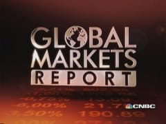 European markets break winning streak