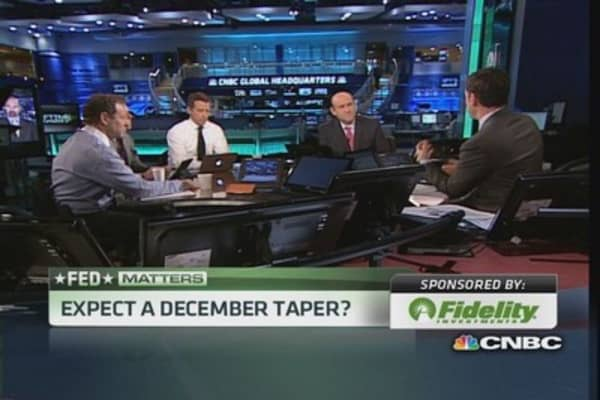 The Fed's 'taper tests'