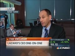 Lazard CEO: Economy drives CEO, boardroom confidence