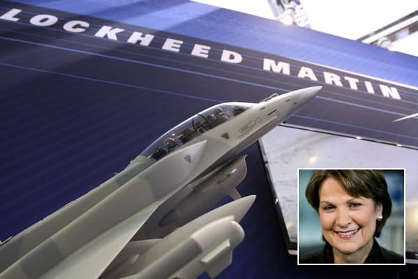 Marillyn Hewson, president and chief operating officer of Lockheed Martin Corp