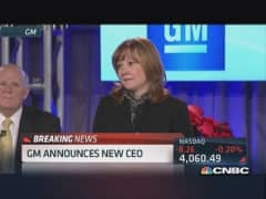 GM announces new CEO