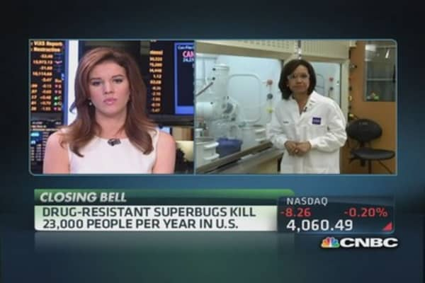 Pharma fights the Superbug