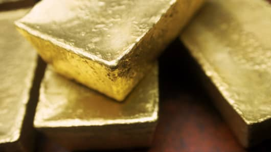 Premium gold ingots