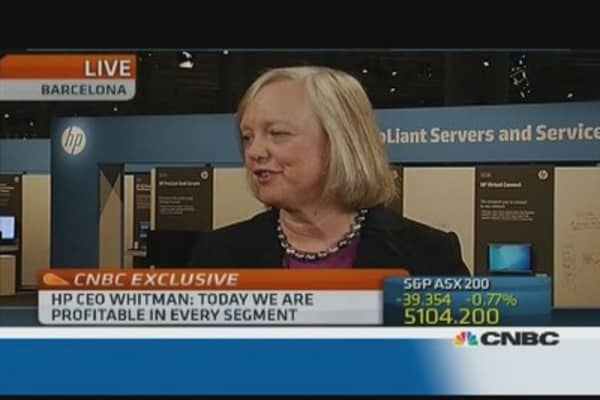 Desktops are not dead: HP CEO